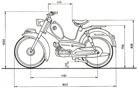 1967 Sparta Tour Automatic Maatschets