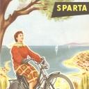 Folder Sparta 1954 Frans