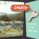 Folder Sparta 1960