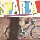Folder Sparta 1967