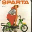 Folder Sparta snorfietsen 1976