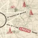 Folder oude Sparta fietsen