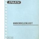 Onderdelenlijst Sparta 6-1969