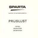 Prijslijst Sparta 1976-7-1