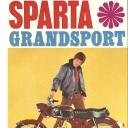 Folder Sparta Grand Sport 1968 Duits