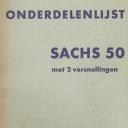 Nr. 310.6 H2 Onderdelenlijst Sachs 50/2