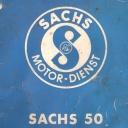 Nr. 310.8 Reparatur-Anweisung Sachs 50