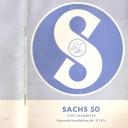 Nr. 311.8 H Reparatie-Handleiding Sachs 50 type Saxonette
