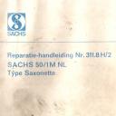 Nr. 311.8 H2 Reparatie-Handleiding Sachs 50/1M NL