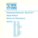 Nr. 320.8 DEF Reparaturanleitung Sachs 50/3/4
