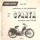 Handleiding Sparta FP50