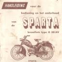 Handleiding Sparta G50 AV
