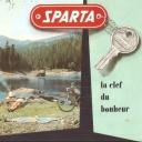 Folder Sparta 1960 Frans