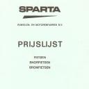 Prijslijst Sparta 1976-9-1