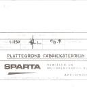 Plattegrond Spartafabriek